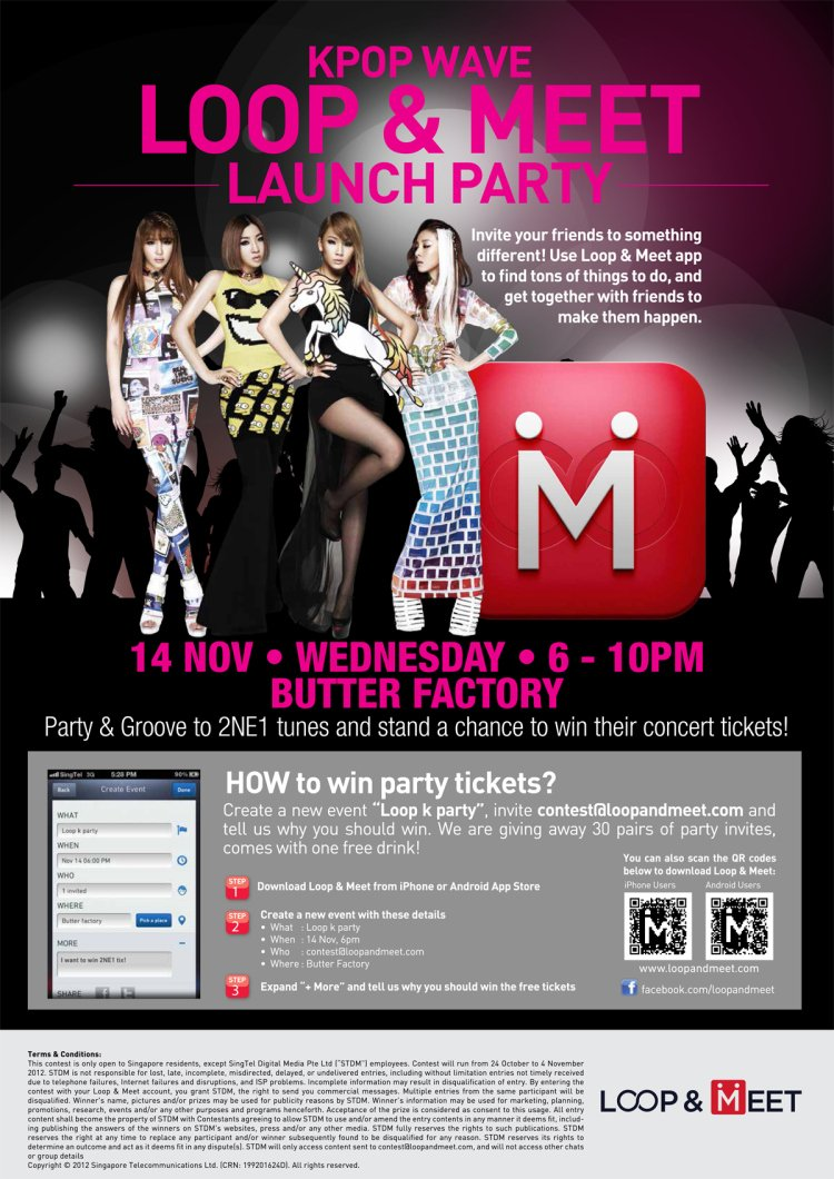 Win 2NE1 New Evolution Singapore Concert Tickets at K-Pop