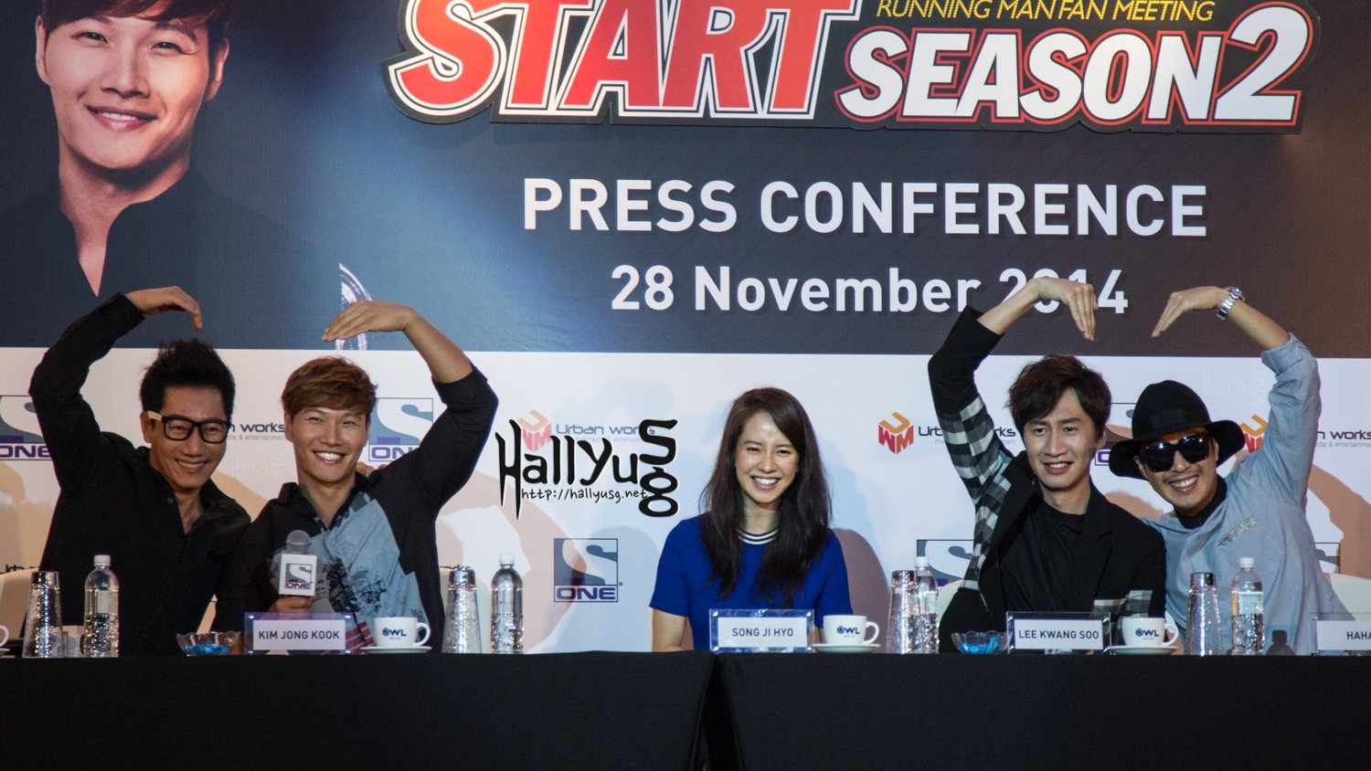 PHOTOS] Running Man's Appearance at Race Start Season 2 in Singapore