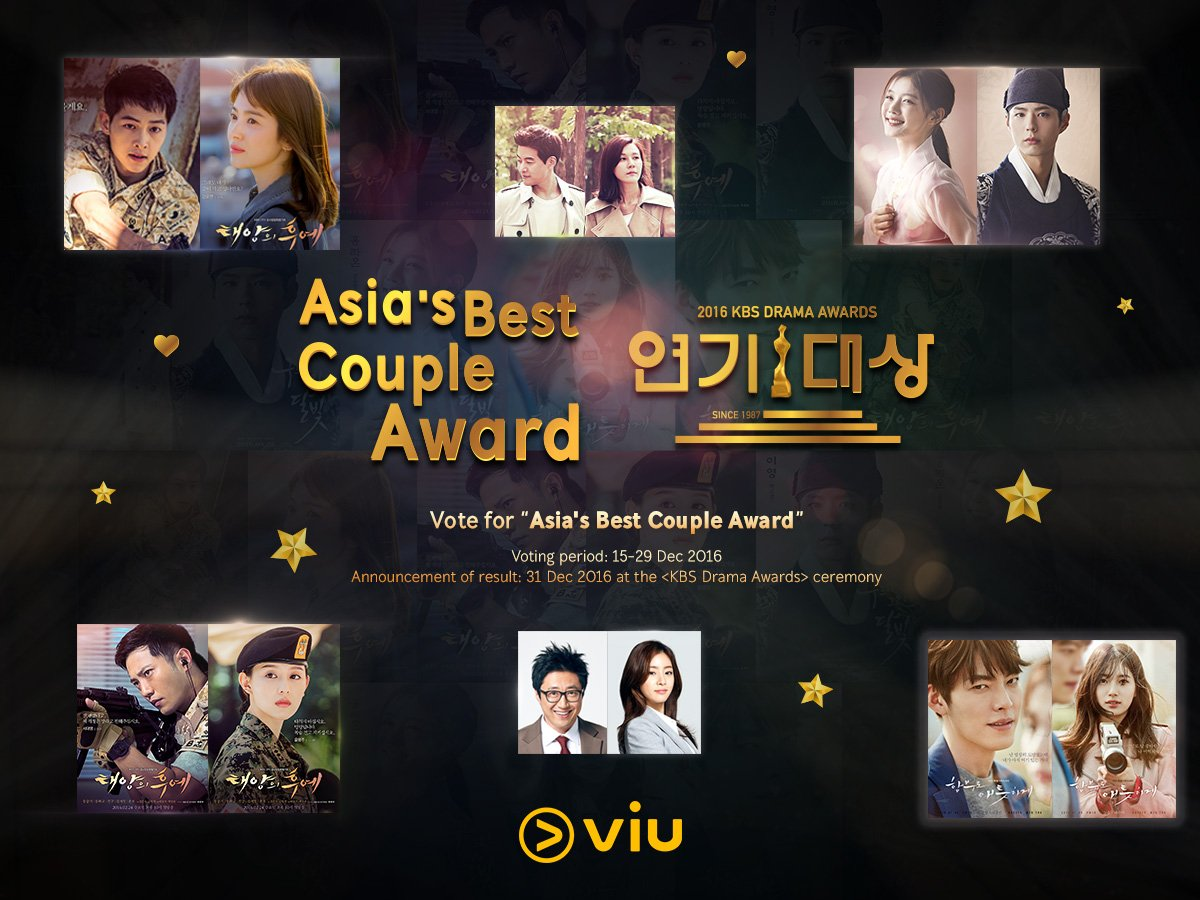 Catch The Annual KBS & SBS Award Ceremonies Exclusively On Viu +
