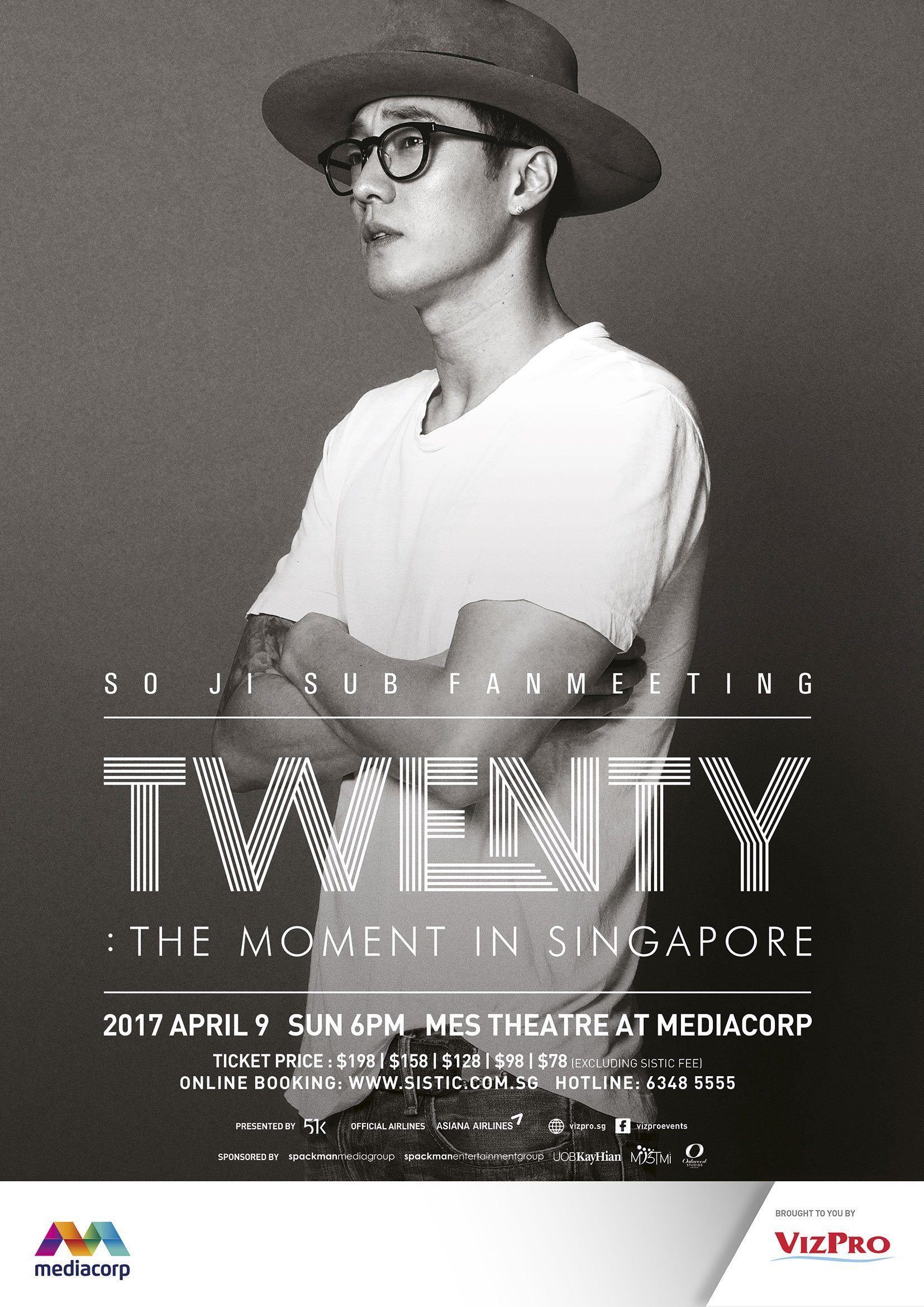[UPCOMING EVENT] Actor So Ji Sub Brings Fan Meeting Tour To Singapore This April
