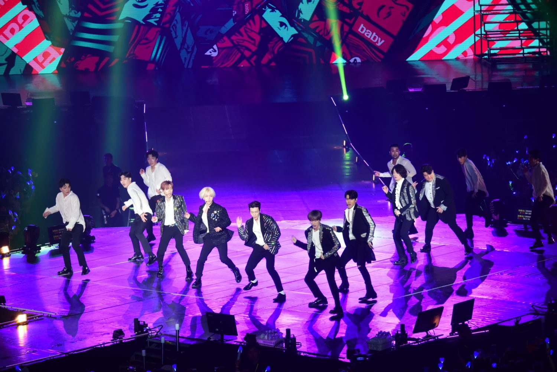 COVER] A Night of Black Suit, Super Junior Returns To
