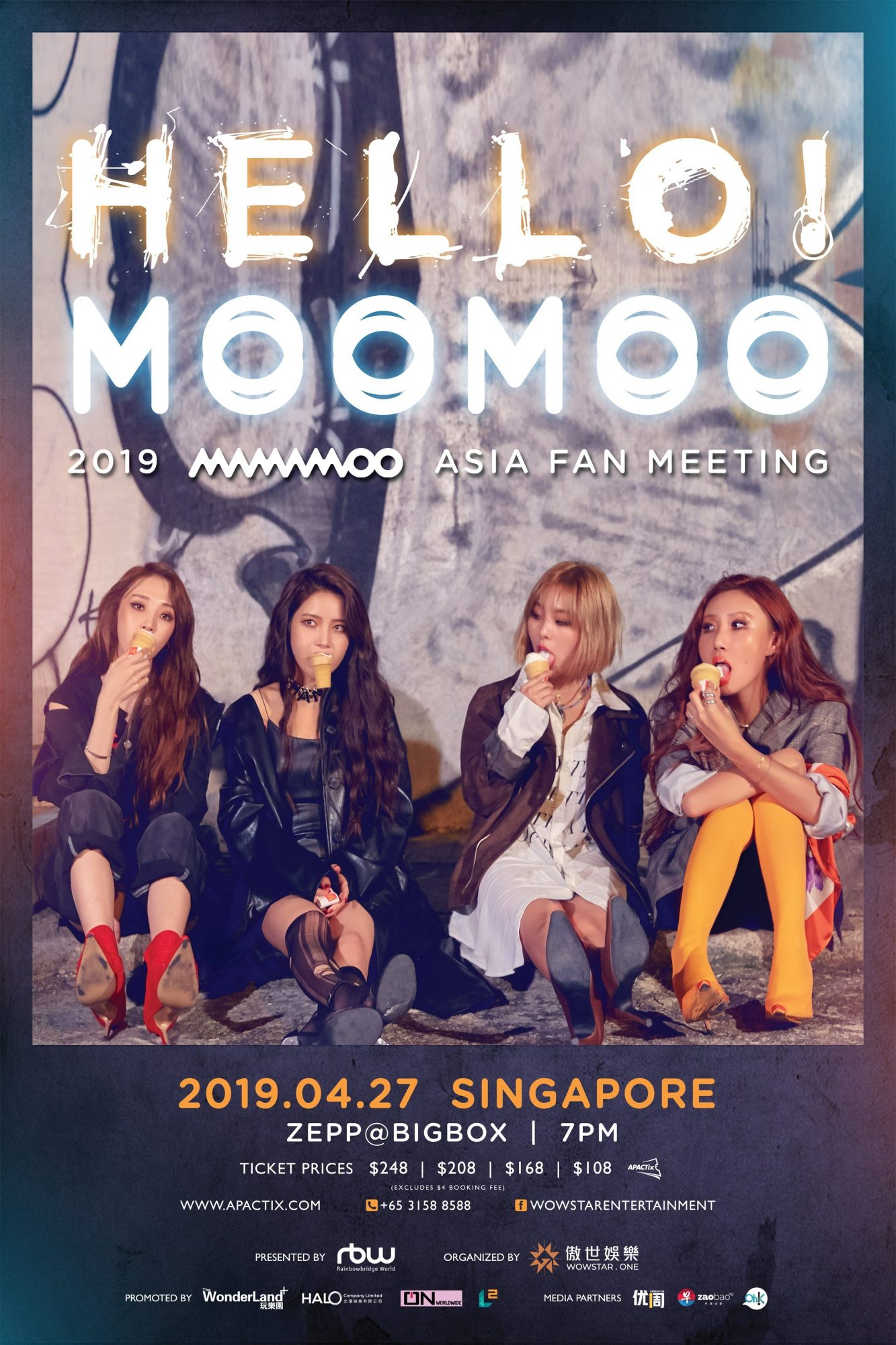 MAMAMOO Confirms Fanmeeting Details in Singapore, Tickets