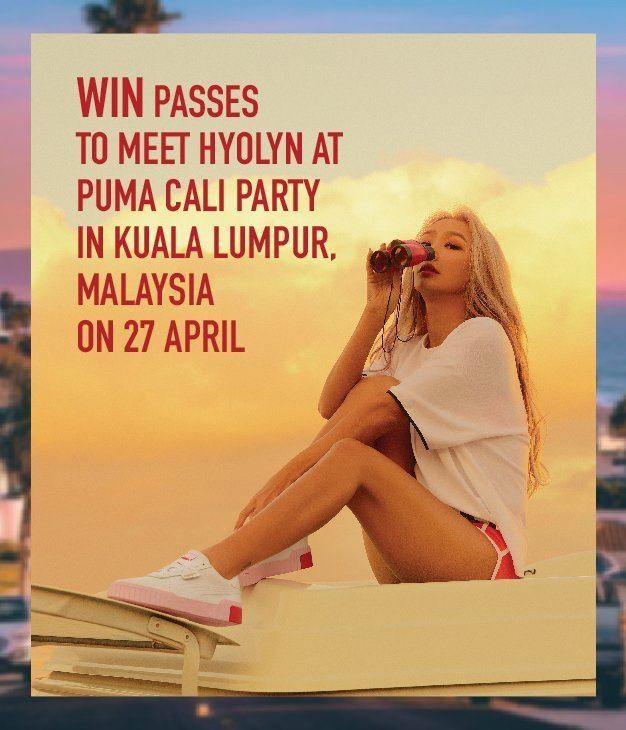 WIN BY-INVITE-ONLY PASSES TO MEET HYOLYN!