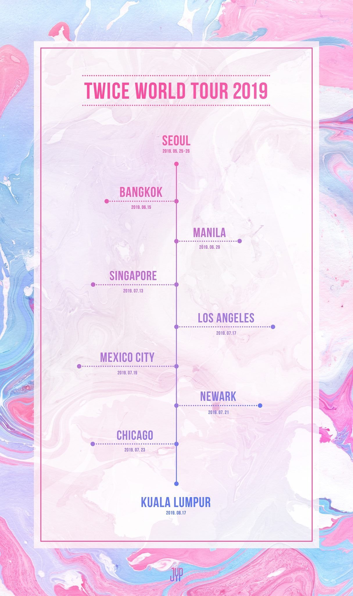Ticketing Information released for TWICE 2019 World Tour