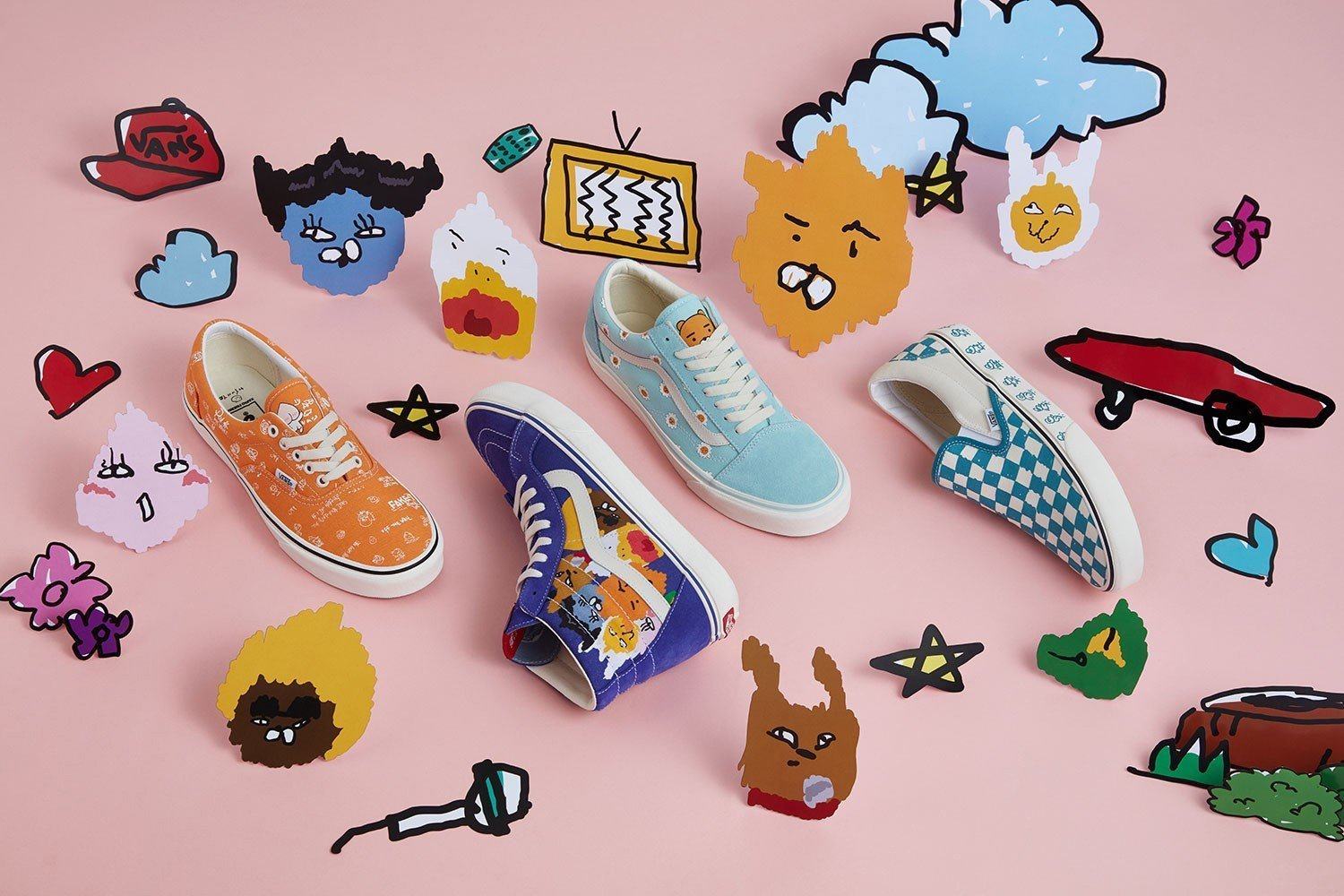 e14b1a99906575 VANS Teams Up with KAKAO FRIENDS For A Footwear Collaboration - HallyuSG