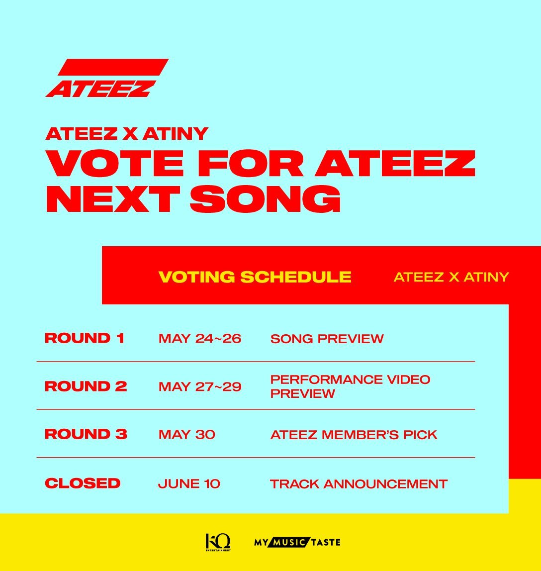 ATEEZ Invites Fans to Vote for Their Next Promotional Title