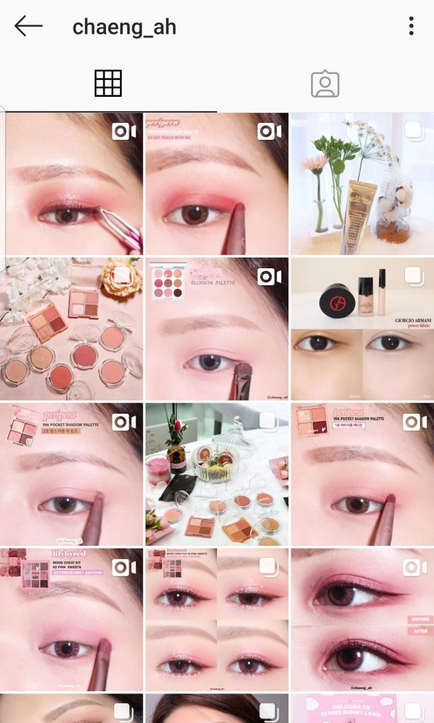 5 Korean Instagram Accounts To Follow For Beautiful Swatches And Quick Makeup Tutorials Hallyusg